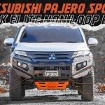 Piak Elite No Loop Bar to suit Pajero Sport QF 2020-ON